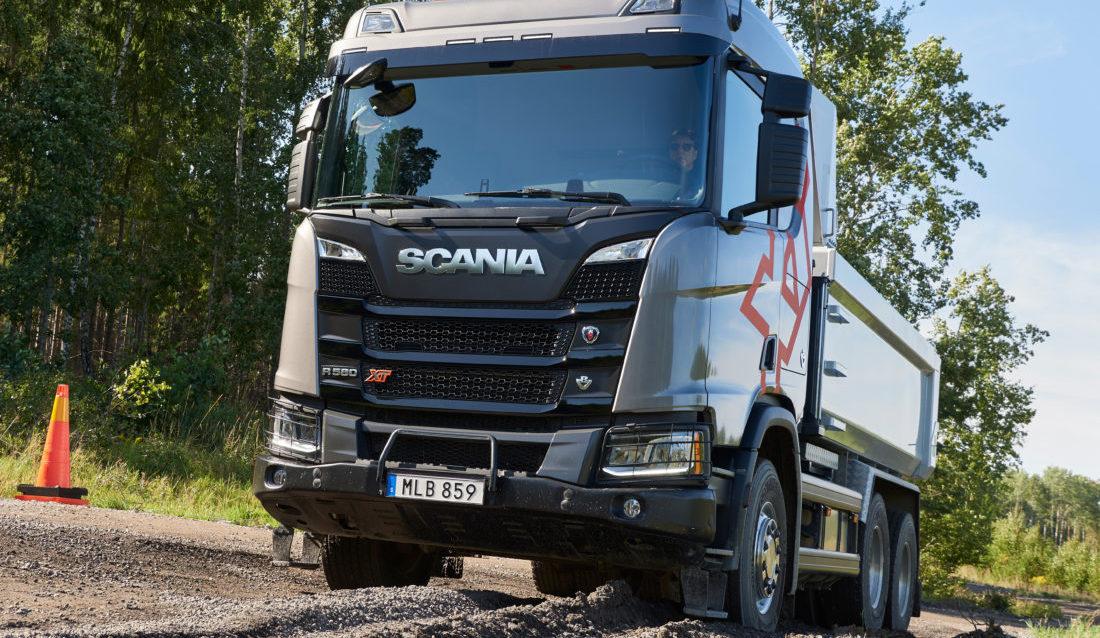 Scania R580 6x4 XT