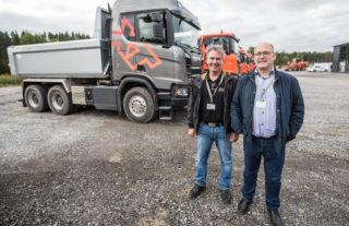 John Lauvstad og Robert Steen, Scania XT