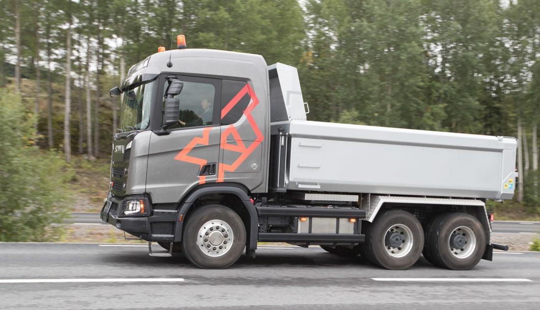 Scania XT på vei