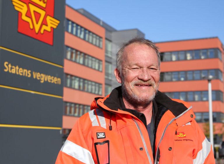 Roald Birkeli i Statens vegvesen forteller at Bodø er det eneste stedet i hele region Nord der det er barveistrategi, og han kjenner heller ikke til noe tilsvarende like langt nord i Sverige. (Foto: Runar F. Daler).