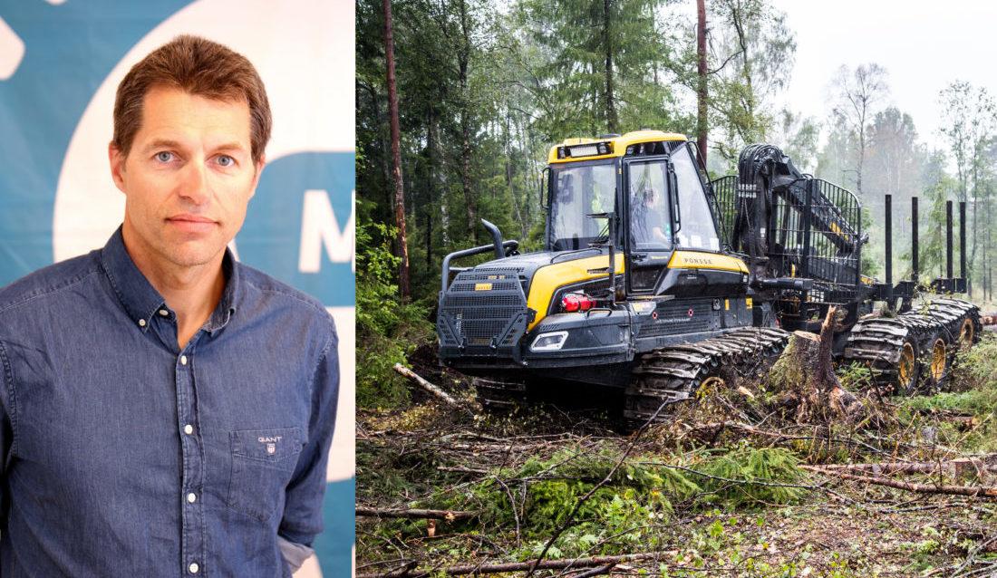 Bjørn Lauritzen, fagsjef skog i Maskinentreprenørenes Forbund (MEF). (Foto: Kari Druglimo-Nygaard/Runar F. Daler).