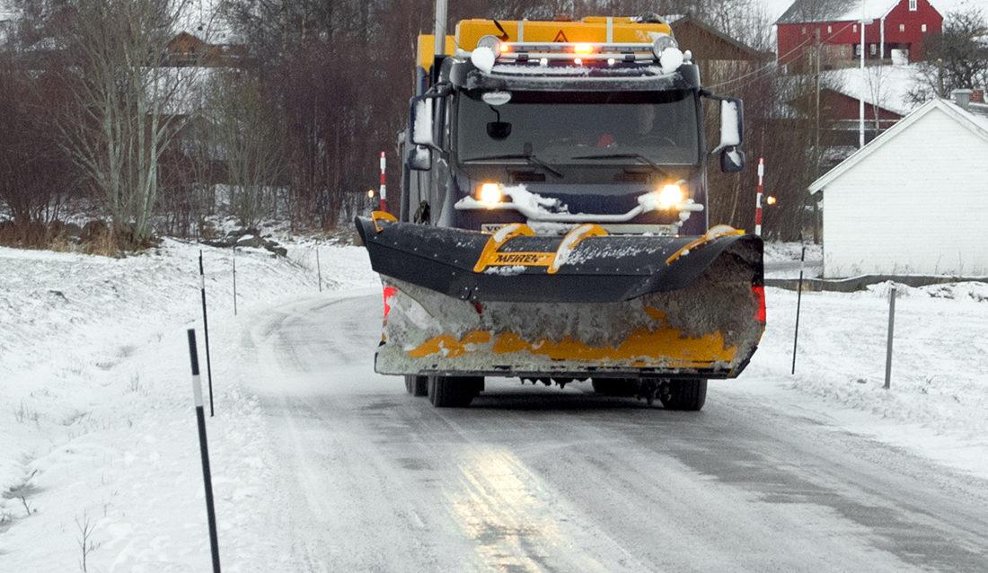 Brøytebil Romsdal Eide & Frilund