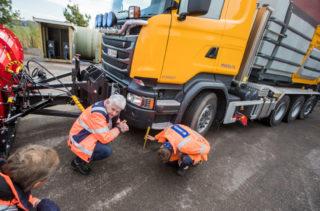 Bakkeklaring på lastebil