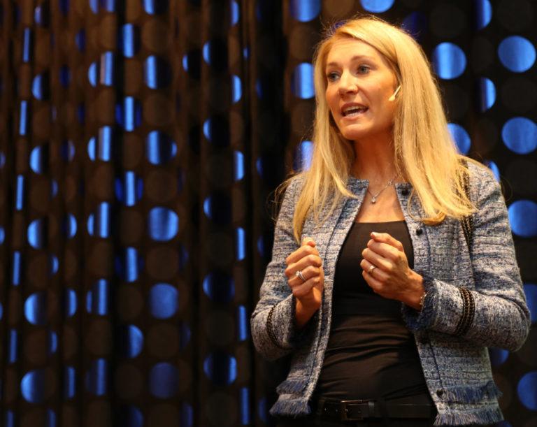 Julie Brodtkorb, administrerende direktør i MEF. (Foto: Runar F. Daler).
