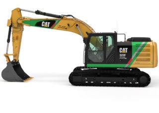 Cat 323F Z-line.