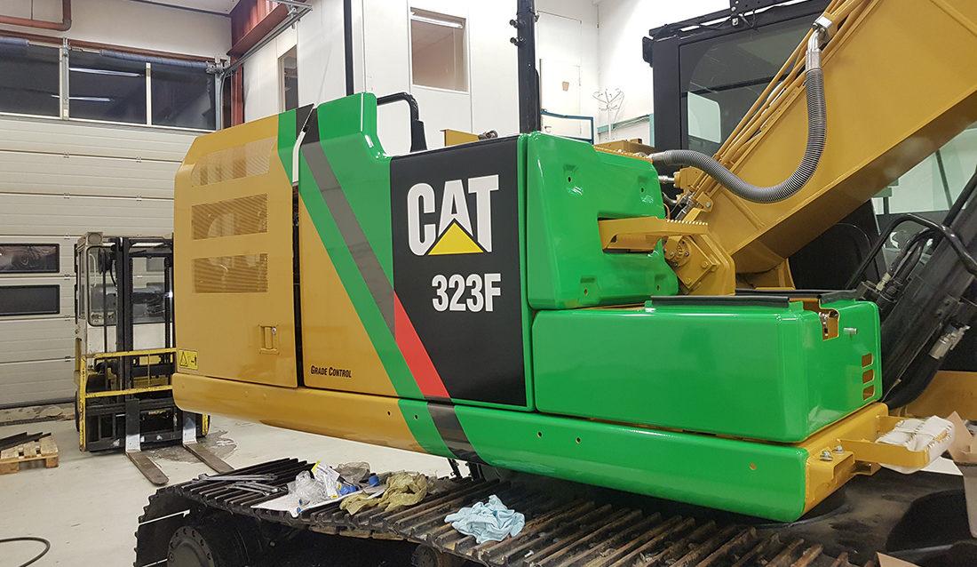 Batteridrevet Cat 323F Z-line