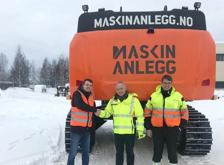 Jonas Strande, John Petter Helset og Claus Kviesgaard