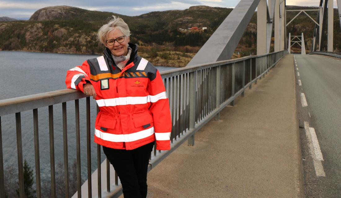 Eva Solvi, Statens vegvesen, vegavdeling Trøndelag