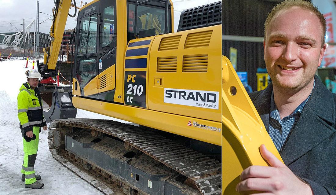 Martin Skårer - Strand Bemanning - Mann og maskin