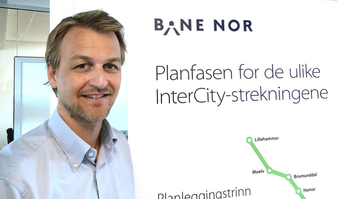 Henning Scheel, Bane NOR