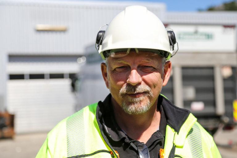 Morten var så engasjert at det nærmest gnistret i øynene hans, forteller Ivar Helge Andersen i OKAB. (Foto: Runar F. Daler).