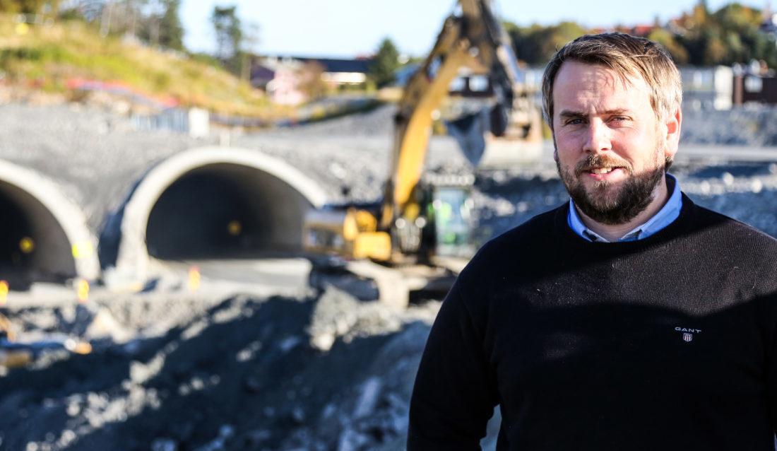 MEFs nye regionsjef i nord: Martin Grønnslett. (Foto: Runar F. Daler).