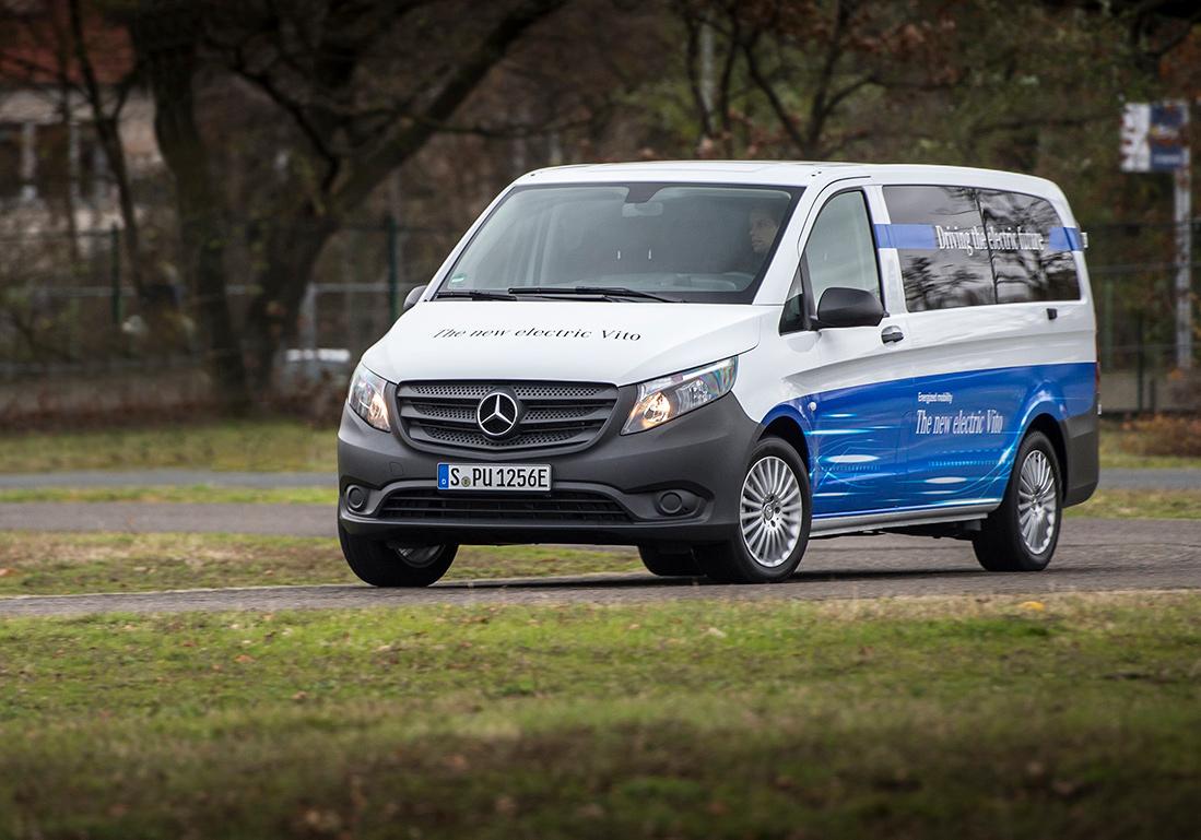 Starter salget av elektriske varebiler