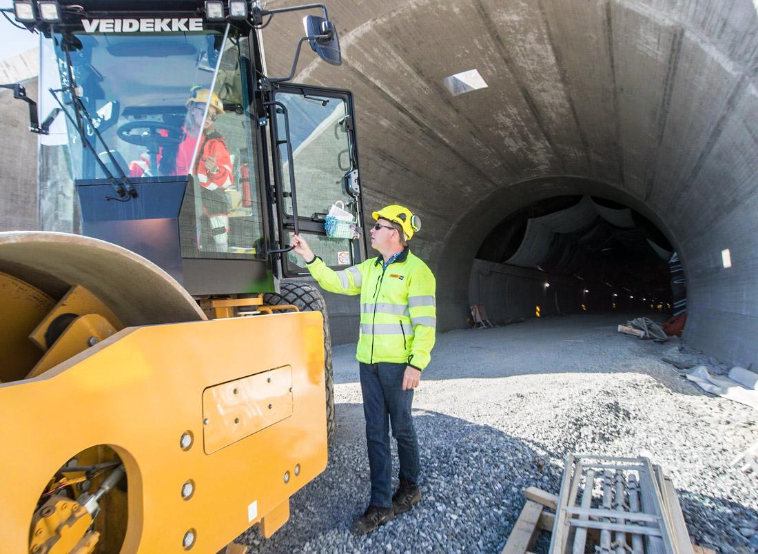 Glenn Thorén og Ida Svean, vals i tunnel