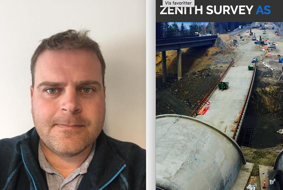STIKNINGSLEDER: Espen Dahl-Mortensen i Zenith Survey AS
