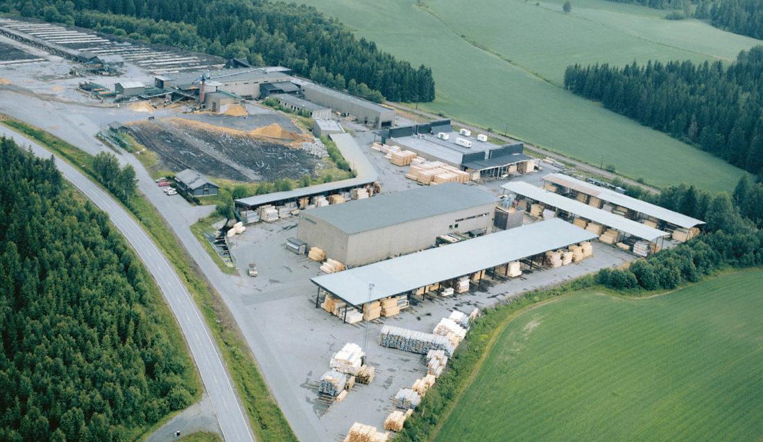 Moelven Are AS i Spydeberg legges ned. (Foto: Moelven Industrier ASA).