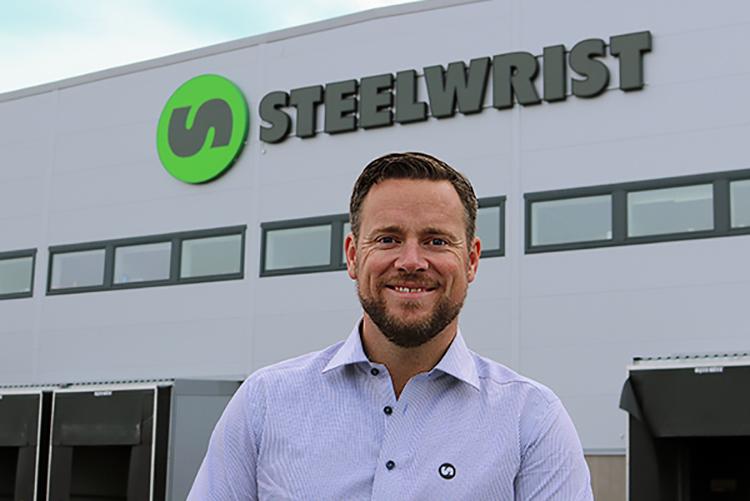 Stian Zachariassen er ny daglig leder i Steelwrist AS. (Foto: Steelwrist AS).