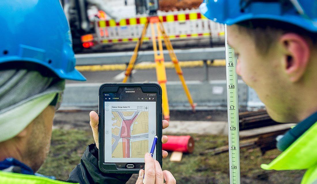 Kabelpåvisning blir digitalisert. Kan hentes inn prosjektering og elektroniske kart.