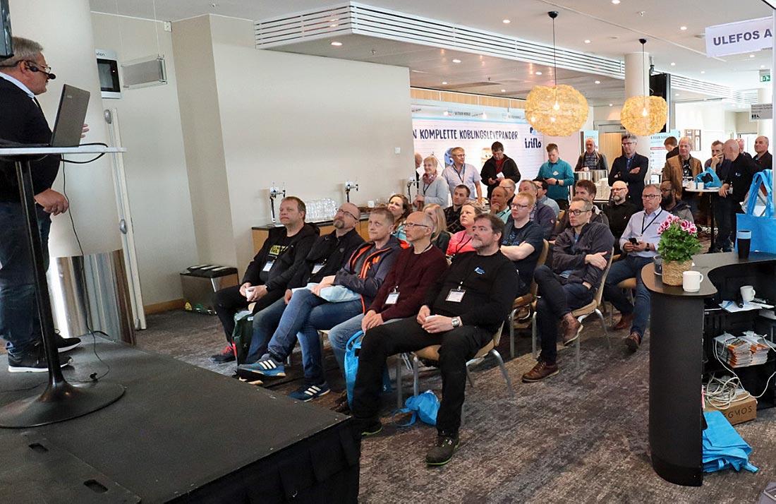 Ulefos seminar på VA Tour Norge i Tromsø