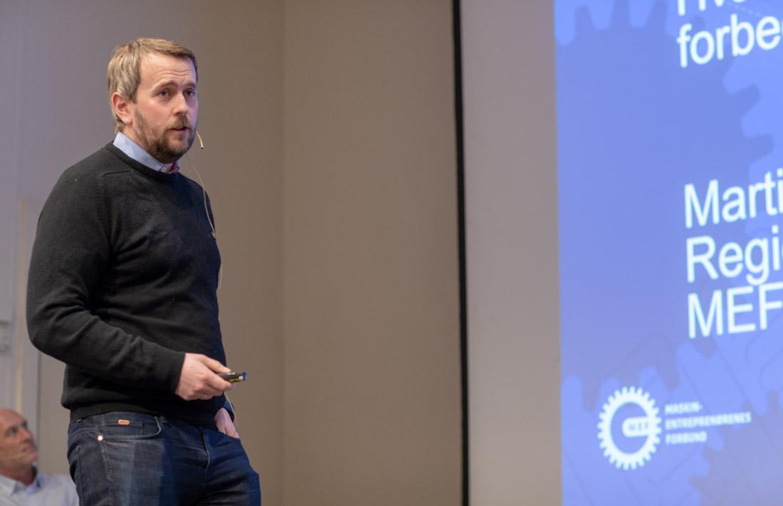 SKEPTISK: Martin Grønnslett, MEFs regionssjef i nord.