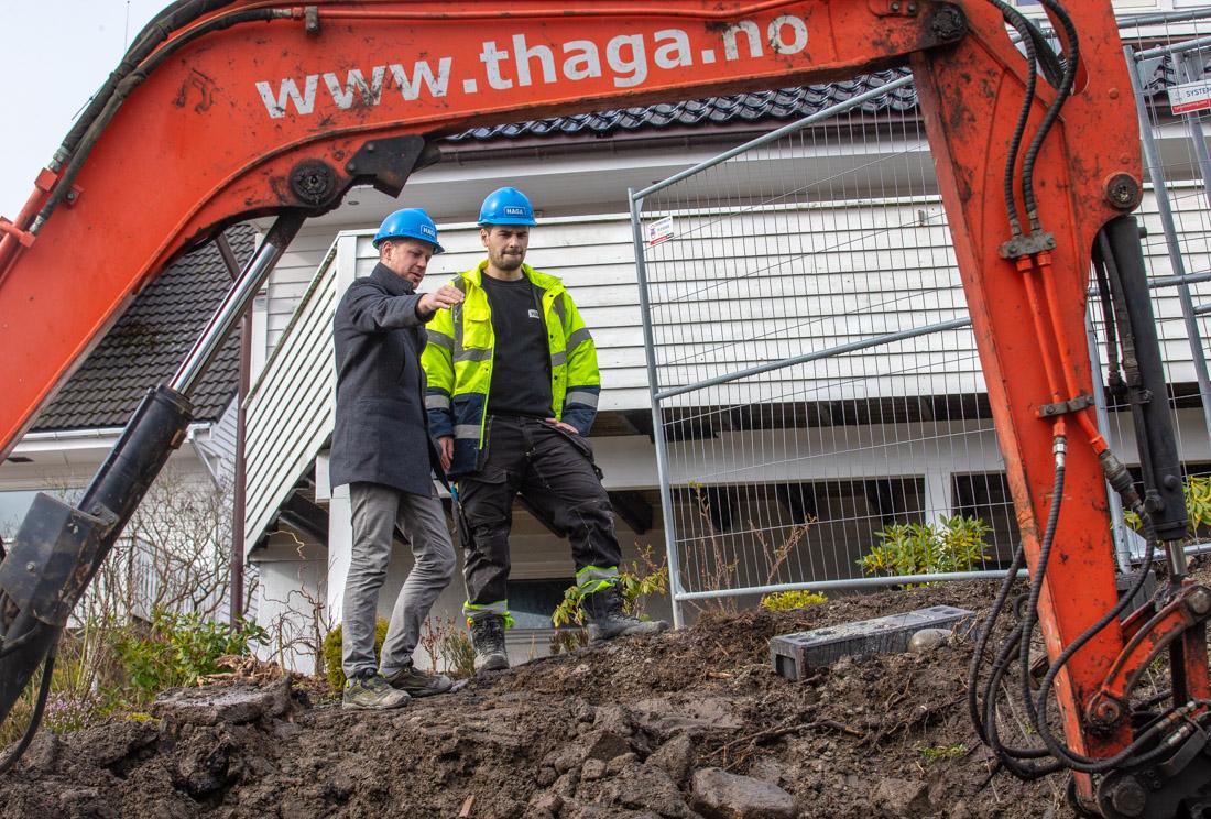 Tommy Haga og Bjørnar Meling