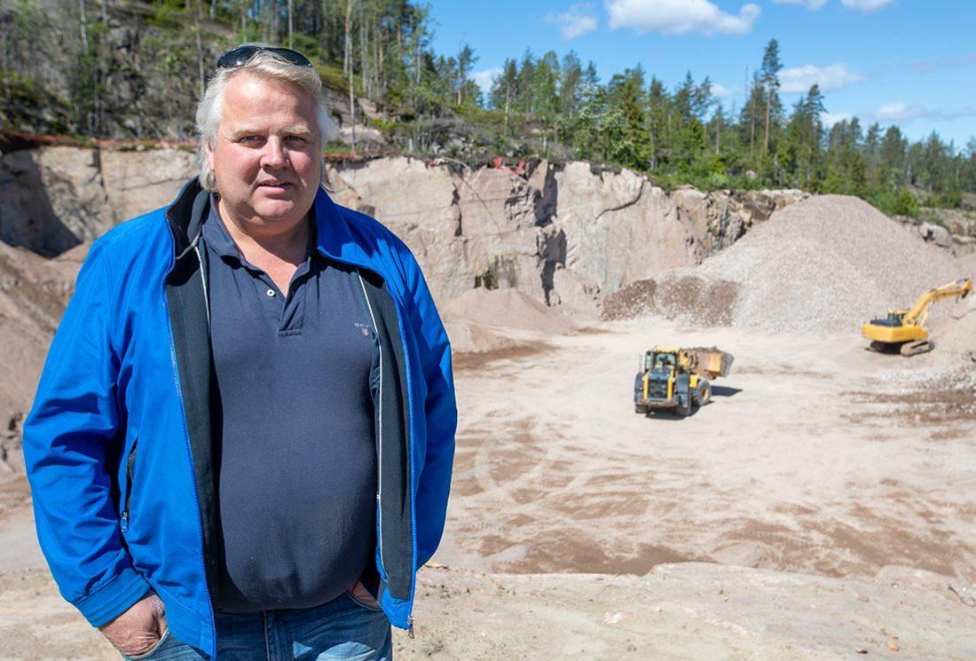 Lasse Jørgensen steinknuser