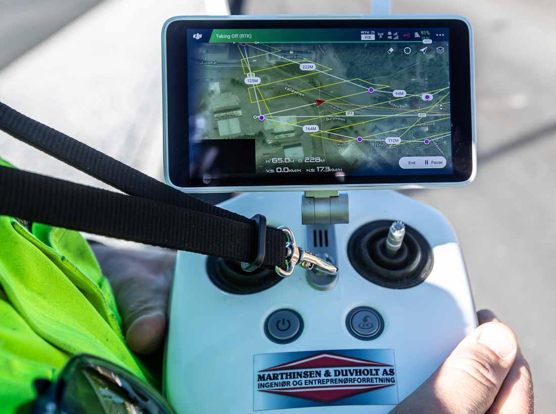 DJI fjernkontroll til drone