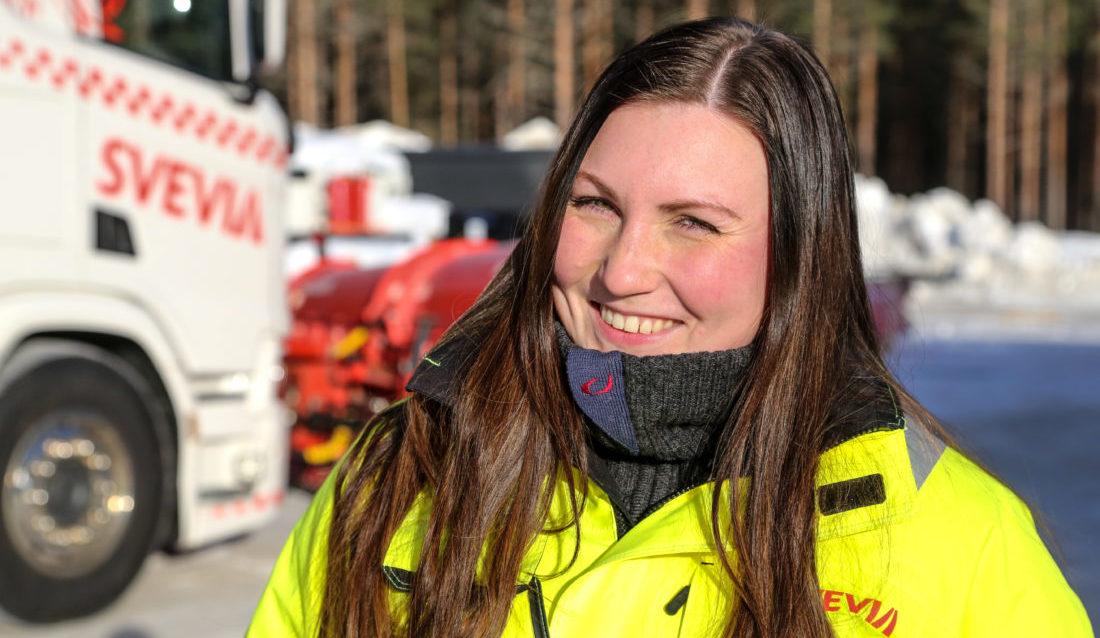 """PRIMUS MOTOR: Elise Rasmussen (32) står bak den populære gruppa """"Anleggskvinner""""."""