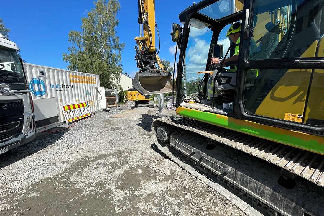Skal levere mobile hurtigladere til bygge- og